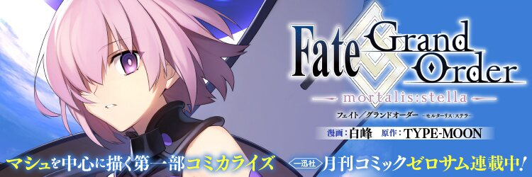 Fate/Grand Order -mortalis:stella-